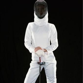 Bivša talijanska državna prvakinja u mačevanju.